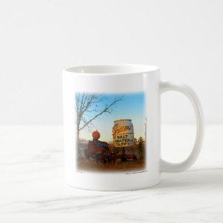 Vintage Junk Yard Salt Water Taffy Sign Coffee Mug