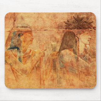 Vintage Karnak Temple Egypt Shabako Ancient Mouse Pad