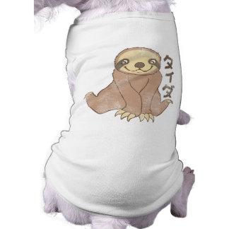 Vintage Kawaii Sloth Dog Shirt