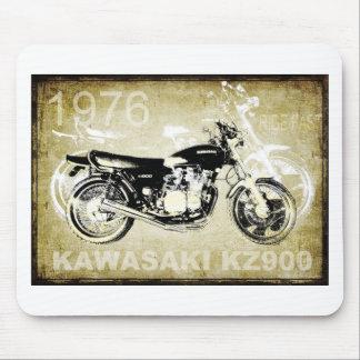 Vintage Kawasaki KZ900 Motorcycle Mouse Pad