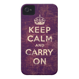 Vintage keep calm and carry on blackberry bold cases