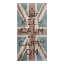 Vintage Keep Calm And Carry On Print
