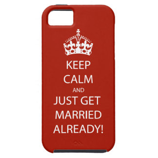 Vintage KEEP CALM  GET MARRIED iPhone 5 Covers