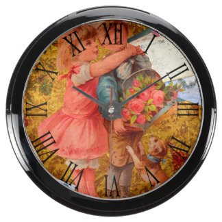 Vintage Keepsake Aquavista Clock