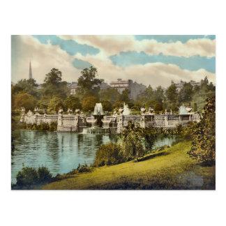 Vintage Kensington Gardens London England Postcard
