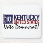 Vintage Kentucky de Demócrata del voto en 2010 - Tapete De Ratones