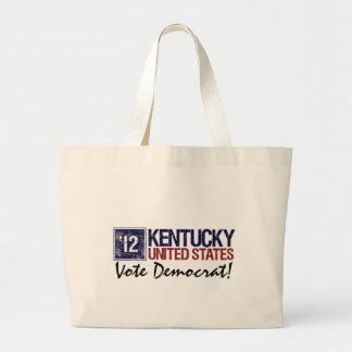 Vintage Kentucky de Demócrata del voto en 2012 - Bolsa De Mano