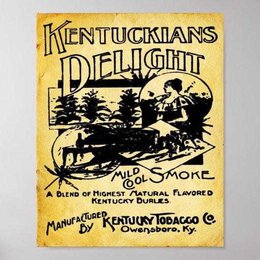 Vintage Kentucky Tobacco Company Print