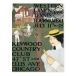 Vintage Kenwood Chicago Tarjeta Postal