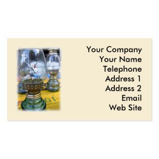 Vintage Kerosene Lamps Business Card