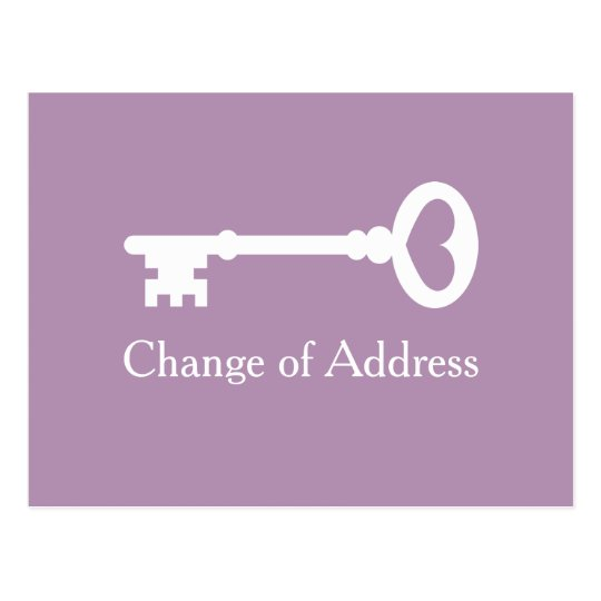 how to change your address when moving