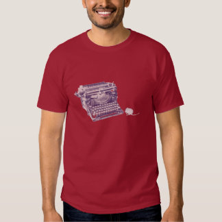 Vintage keyboard and mouse mens t-shirt