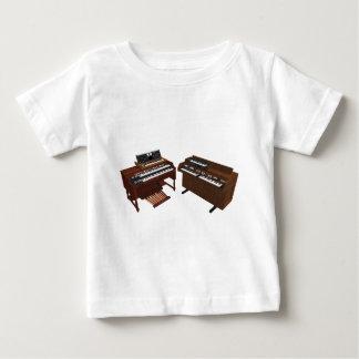 Vintage Keyboards: 3D Model: Baby T-Shirt