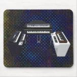 Vintage Keyboards: 3D Model: Custom Mousepad