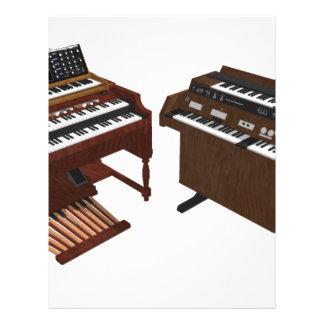 Vintage Keyboards: 3D Model: Flyers