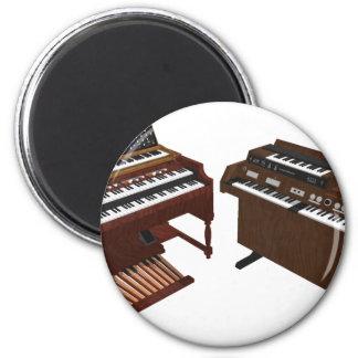 Vintage Keyboards: 3D Model: Refrigerator Magnets