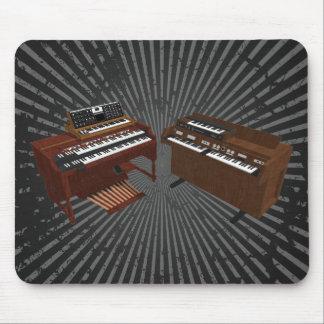 Vintage Keyboards: 3D Model: Mousepad