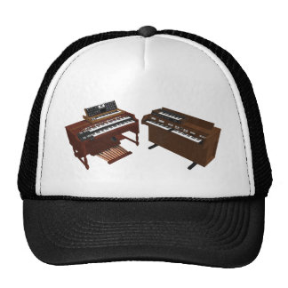 Vintage Keyboards: 3D Model: Trucker Hat