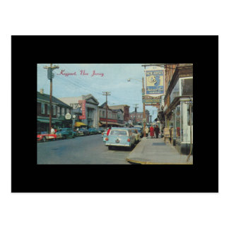 Vintage Keyport New Jersery West Front street View Post Cards
