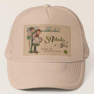 vintage kids st pat trucker hat