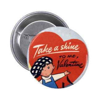 Vintage Kids Valentine Pins