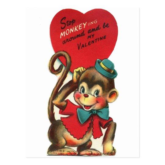 vintage kids valentine postcards