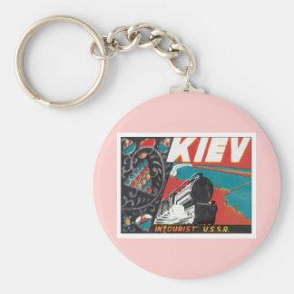 Vintage Kiev Ucrania Llavero Personalizado