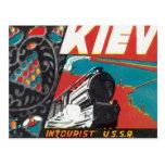 Vintage Kiev Ucrania Postal