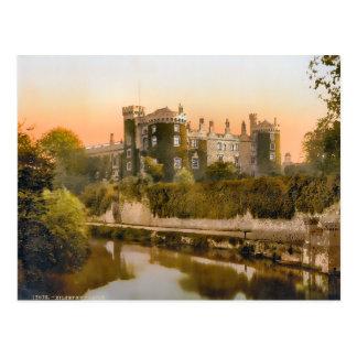 Vintage Kilkenny Castle Ireland Postcard