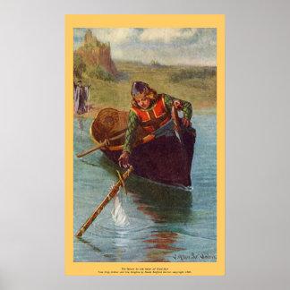 Vintage - King Arthur - Excalibur Returned Poster