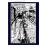 Vintage - King Arthur Sees Guinevere Greeting Card