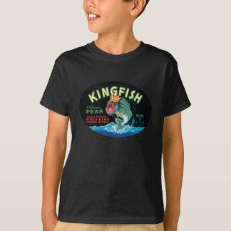 Vintage Kingfish Peas Crate Label - Shirt
