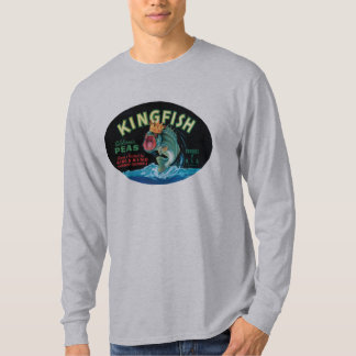 Vintage Kingfish Peas Label - Shirt