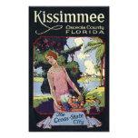 Vintage Kissimmee Osceola County Florida Travel Photo Print