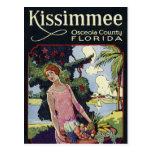 Vintage Kissimmee Osceola County Florida Travel Postcard