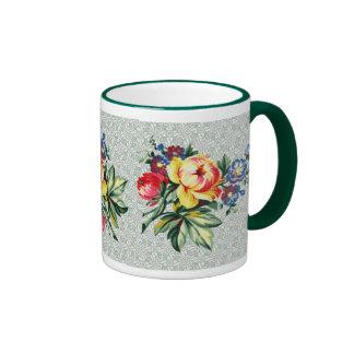 Vintage Kitchen - Floral Bouquet Mug