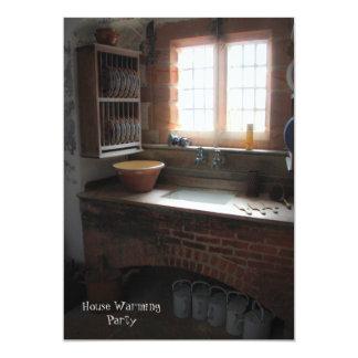 Vintage Kitchen House Warming Party Invitation
