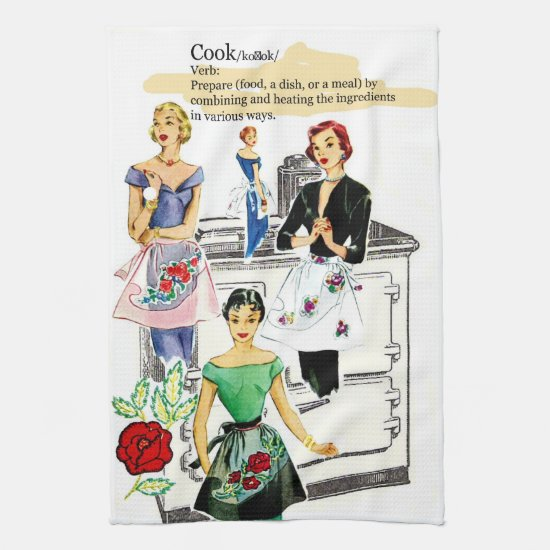 Vintage Kitchen Stove towel