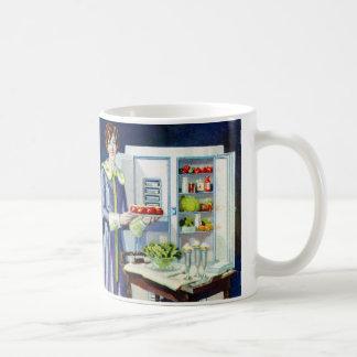 Vintage Kitsch 20s Refrigerator Fridge Icebox Coffee Mug
