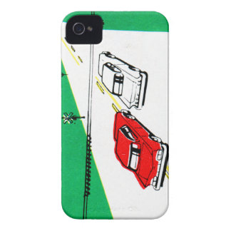 Vintage Kitsch 60s Drivers Ed Manual Train Cross iPhone 4 Cover