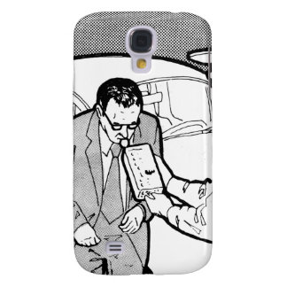 Vintage Kitsch 60s Driving Breathalyzer DWI Samsung Galaxy S4 Case