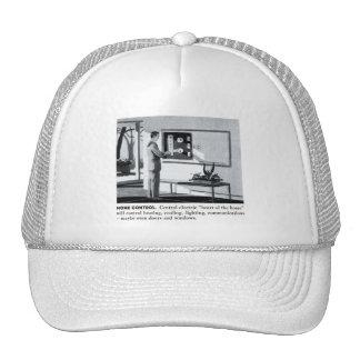 Vintage Kitsch 60s Suburbs Remote Control Home Trucker Hat