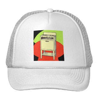 Vintage Kitsch Appliances Gas Burner Stove Oven Trucker Hat