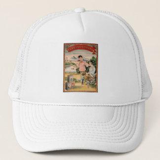 Vintage Kitsch Asian Advertisement Women Trucker Hat