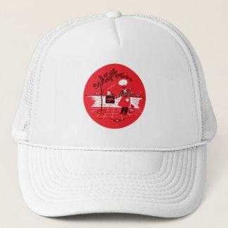 Vintage Kitsch BBQ Barbecue Suburban Dad Trucker Hat