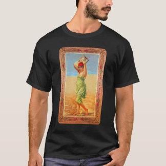 Vintage Kitsch Cigar Tobacco Girl Trade Card T-Shirt