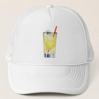 Vintage Kitsch Cocktail Gin Rickey Booze Trucker Hat