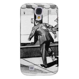 Vintage Kitsch Consumer Overconsumption Fridge Ad Galaxy S4 Cover