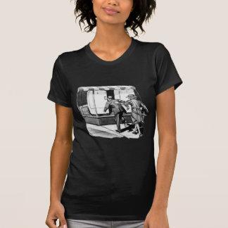 Vintage Kitsch Consumer Overconsumption Fridge Ad T-Shirt