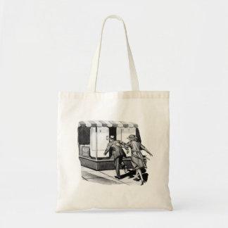 Vintage Kitsch Consumer Overconsumption Fridge Ad Tote Bag